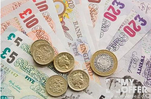 5.英镑现金