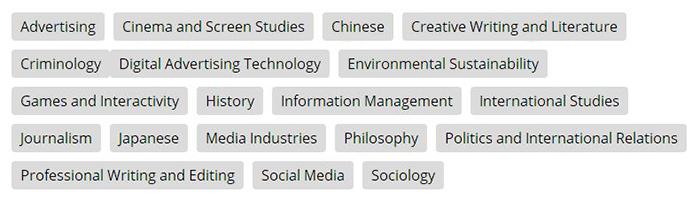 斯威本科技大学专业分析