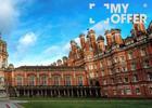 伦敦大学皇家霍洛威学院宿舍,古堡田园草原多种风情任君感受!