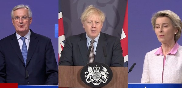 重磅!英國官宣達成價值6680億磅脫歐協議!