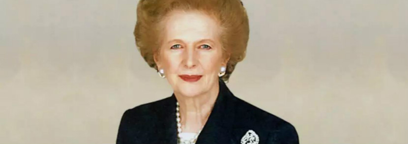 铁娘子撒切尔一生绕不开的女人,竟是英女王!