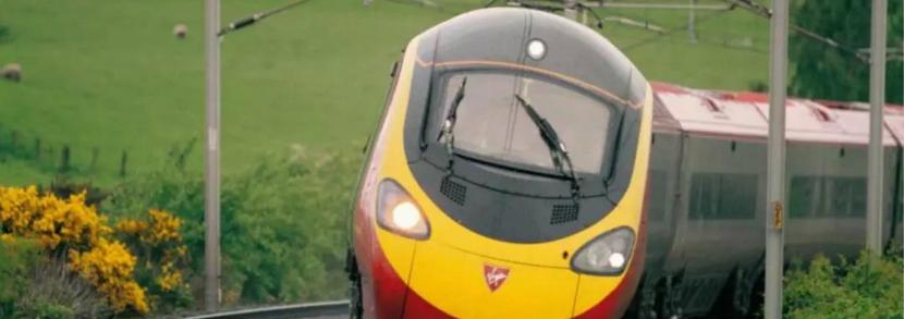 最后一班Virgin Train!