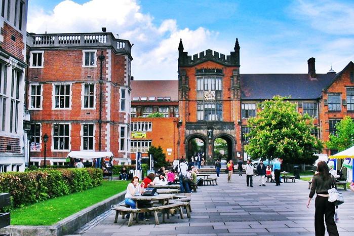 谢菲尔德大学在英国哪个城市