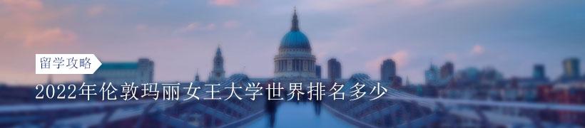 2022年伦敦玛丽女王大学世界排名多少