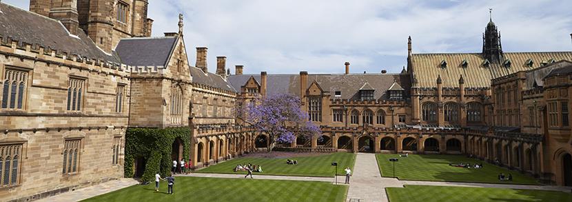 悉尼大学读研雅思要求:十四大院系语言条件盘点!